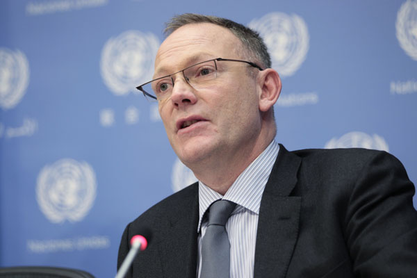 Press conference : Mr. Christof Heyns, Special Rapporteur on extrajudicial, summary or arbitrary executions, and Mr. Ben Emmerson, Special Rapporteur on the promotion and protection of human rights while countering terrorism.